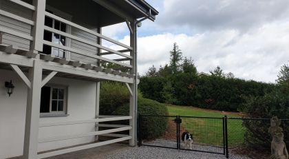 Met de hond op vakantie in Chalet Faro Durbuy