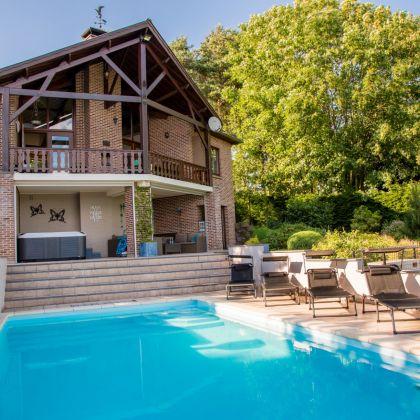 Villa Faro Durbuy suites luxe vakantiehuis met wellness